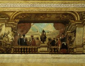 Paris / Assemblée Nationale / Painting