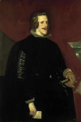 Philip IV of Spain /Paint.by Velázquez