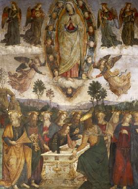 Pinturicchio / Ascension of Mary