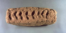 Prehistoric fragment from Jericho (mud brick)