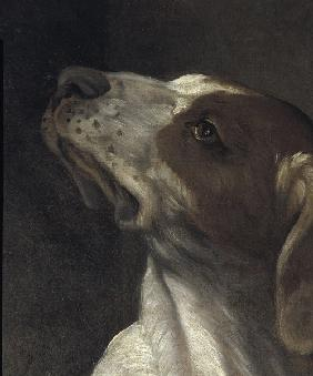 Reni / St.Roche / Detail: dog / c.1617