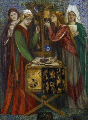 Rossetti / The Blue Closet / Painting