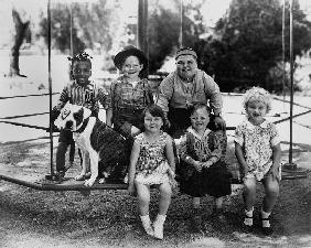 Series THE LITTLE RASCALS/OUR GANG COMEDIES with Petey, Farina Hoskins, Mary Anne Jackson, Joe Cobb,
