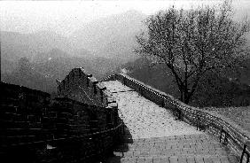 the Great Wall of China, photo taken
