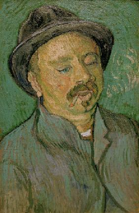 van Gogh/Portrait of a one-eyed man/1888