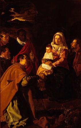 Velazquez / Adoration of the Magi / 1619