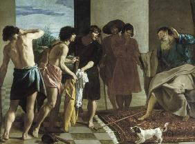 Velazquez / Jacob receiving the Clothing