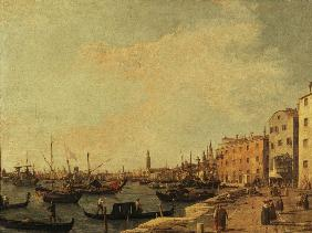 Venice /Doge s Palace/Canaletto/ c.1730