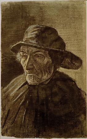 V.van Gogh, Fisherman with a Sou wester