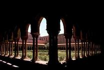 View of the cloister, 12th century (photo)