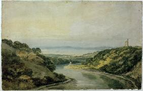 W.Turner / Avon Gorge / Watercolour