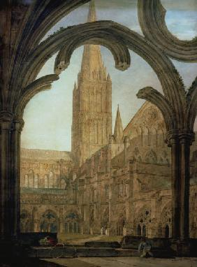 W.Turner / Salisbury Cathedral / 1802