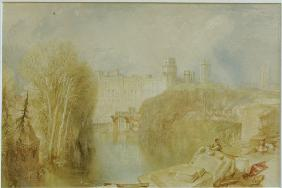 W.Turner, View of Warwick Castle.