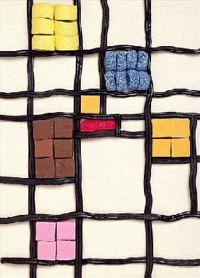 Allsorts 1 (after Mondrian) 2003 (colour photo)