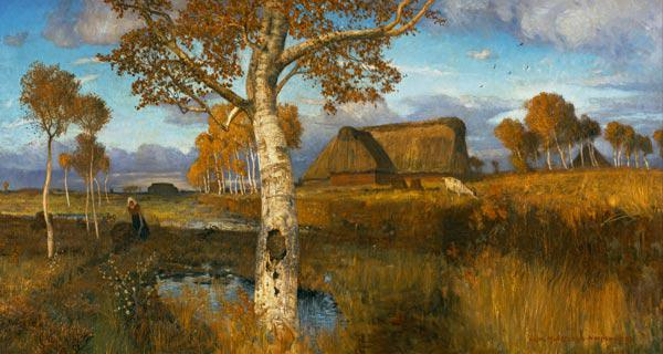 The Marsh in Autumn