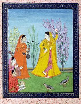 The Beginning of Spring, from Chamba, Himachal Pradesh, c.1800