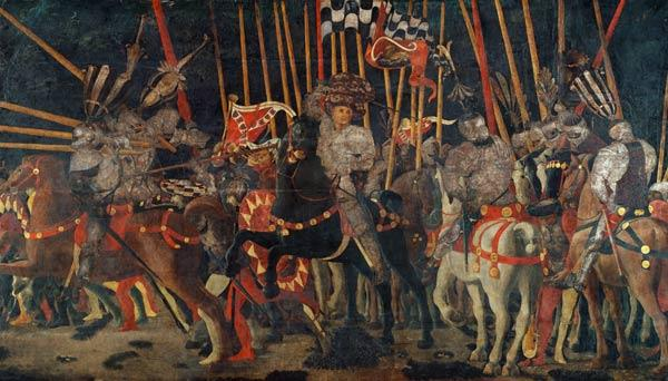 The battle of San Romano.