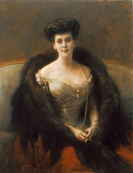 Portrait of Princess O.V. Paley (Countess Hohenfelsen)