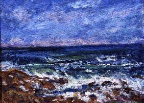 Lands End Breakers, 1997 (oil on canvas)