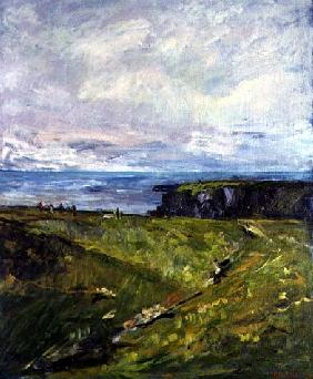 Seaview, Cornwall, 1997 (oil on canvas)