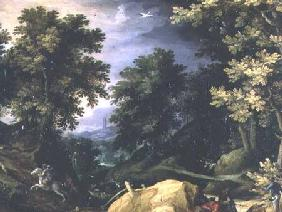 Landscape with a Rabbit Hunt