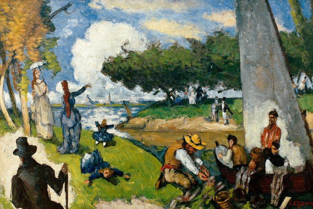 Sunday afternoon - Paul Paul Cézanne en reproducción impresa o ...