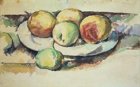 Still Life of Peaches and Figs