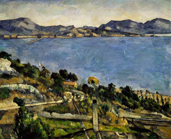 L ' Estaque landscape in the golf of Marseille