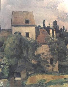 Moulin de la Couleuvre at Pontoise (detail of 32401)