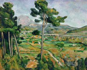 Landscape with viaduct, Mont Sainte Victoire