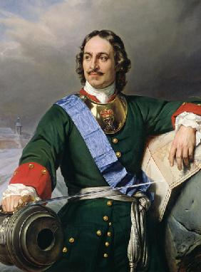 Peter I the Great (1672-1725) 1838