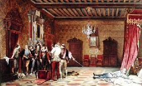 The Assassination of Henri de Lorraine (1549-88) duc de Guise