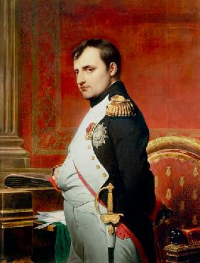 Paul Delaroche - Napoleon (1769-1821) in his Study