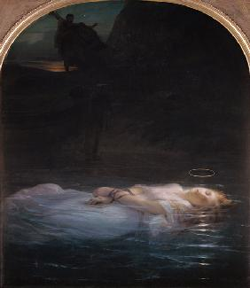 Delaroche, Paul : The Young Martyr