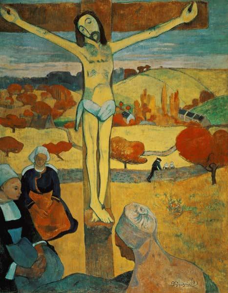 Titulo de la im gen Paul Gauguin Yellow Christ