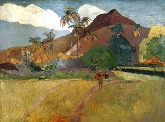 Paisaje tahitiano