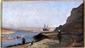 The Estuary at Trouville