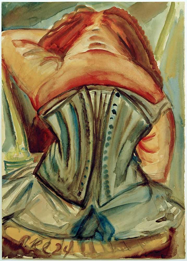 Woman from behind - Paul Kleinschmidt en reproducción