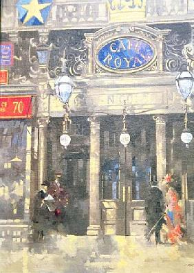 The Cafe Royal, 1993 (oil on canvas)