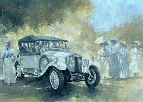 The White Tourer, 1994 (oil on canvas)