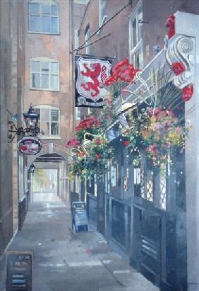 The Red Lion, Crown Passage, St. Jamess, London