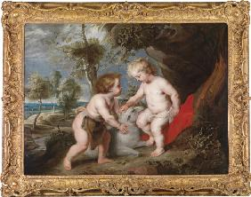 Christ and John the Baptist as Children