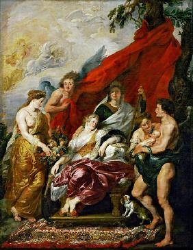 The Birth of the Dauphin at Fontainebleau (The Marie de' Medici Cycle)