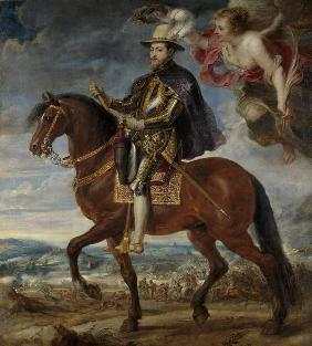 Portrait of Philip II (1527-1598) on Horseback