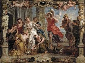 Achilles Discovered by Ulysses Among the Daughters of Lycomedes at Skyros