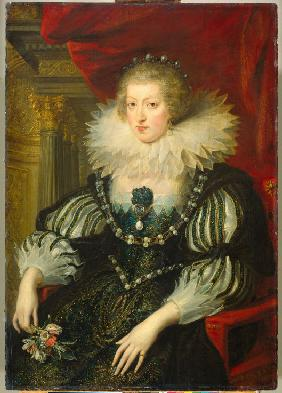Portrait of Anne of Austria, Queen of France and Navarre (1601-1666)