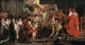 The Coronation of Marie de Medici (1573-1642) at St. Denis, 13th May 1610