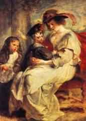 Helene Fourment and her children
