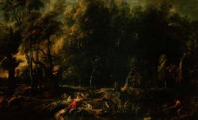 Landscape with the Hunt of the Calydonian Boar