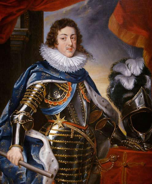 Portrait of Louis XIII of France (1601-1643)